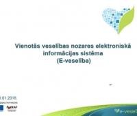 Nacionālais Veselības dienests informē par e-receptes darbību